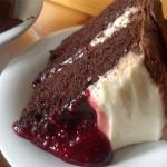 Homemade Raspberry Delight Cake