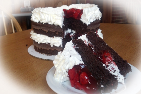 A Taste Of Heaven This Weekend Try Our Blackforest Cake