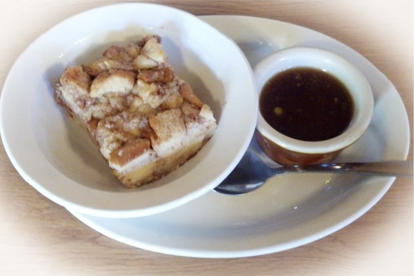 Fan of bread pudding? We offer the best bread pudding anywhere!